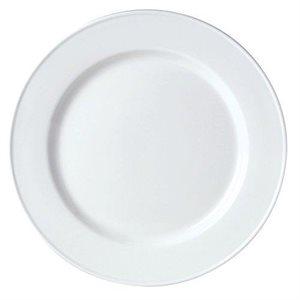 "Assiette, Motif ""Slimline"", Blanc, Diamètre 18 CM, ""Simplicity"""