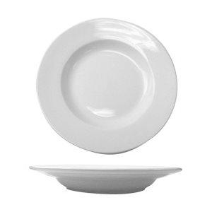 "Assiette A Soupe, Motif ""Slimline"", Blanc, 375 ML / 12.75 Oz"