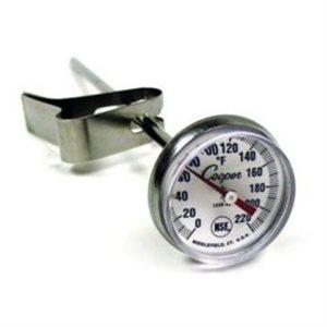 Thermomètre A Cadran A Espresso, Tige De 12.7 Cm, Agrafe Incluse