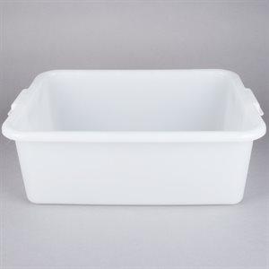 Boite/Contenant De Conservation D'aliments, 15.5 X 20 X 7 Po, Blanc