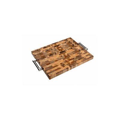 planche a d couper boucher avec manche en bois 40 6 x 51 cm. Black Bedroom Furniture Sets. Home Design Ideas