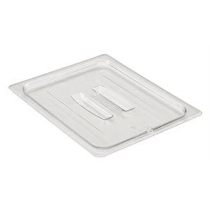 Cambro Camwear 20CWCH135 Transparent, Polycarbonate, Couvercle Plat (Demi Grandeur)