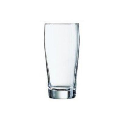 """Verre A Bière, 13.5 Oz / 400 ML, """"Willi Belcher"""", 12/Caisse"""