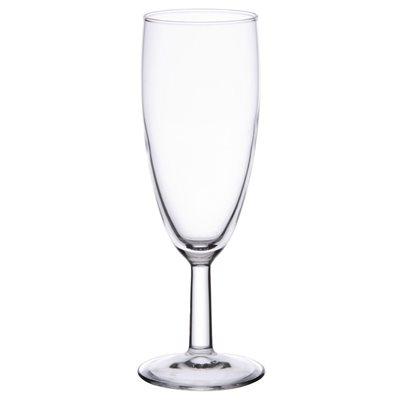 """Verre A Champagne """"Flute"""", 6 Oz / 170 ML, """"Savoie"""", 12/Caisse"""