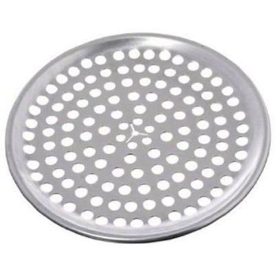 Assiette A Pizza En Aluminium, Perforée, 8 Po En Diamètre