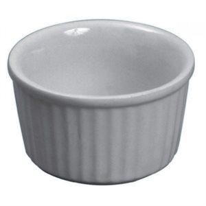 Ramequin En Céramique, Blanc, 2.5 Oz / 75 ML