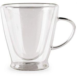 Tasses à Cappuccino Thermax à double paroi (ens de 2)