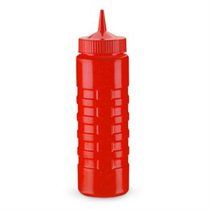 Bouteille A Pression, Sortie Large, Rouge, 710 ML (24 Oz)