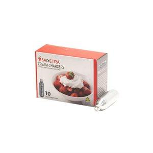 Cartouches Crème Chantilly N2O (10/pqt)