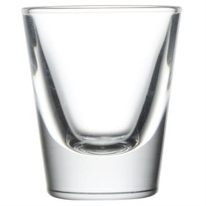 "Verre, ""Shooter Whisky"" 7/8 Oz"