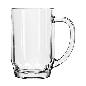 """Verre/Chope A Bière, """"Thumbprint Stein"""", 19.5Oz / 584ML, 24/Caisse"""