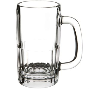 Mug, Beer, Paneled, 12 Oz / 355 ML, 24/Case