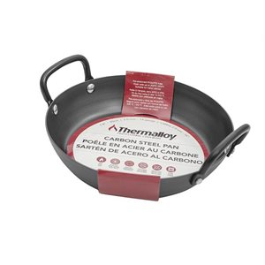 Poêlon à frire en acier carbonne Thermalloy - 20cm