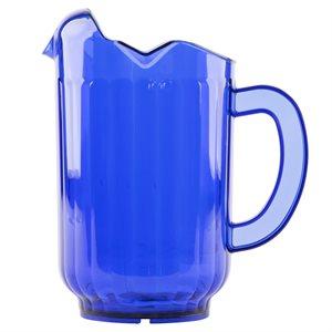 Pichet Traex® Tuffex™ Bleu Cobalt, 1.8L, en Polycarbonate
