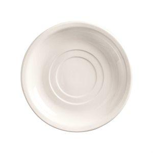"Soucoupe, Double Pli, 5.5 Po, ""Porcelana"""