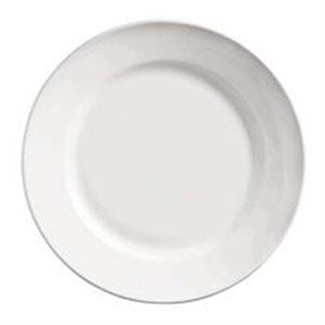 """Assiette Ovale En Porcelaine, Bord Enroulé, 12 Po, """"Porcelana"""""""