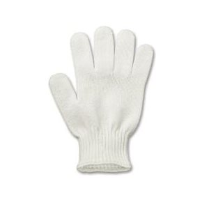 Gant De Protection Contre Couteau, Blanc, Large
