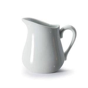 Pot A Crème, Crémier, Porcelaine, Blanc 255 ML