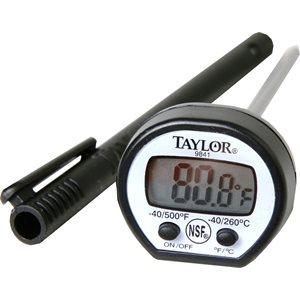Thermomètre De Poche Numérique, Haute Température, Inclus 5 Sondes