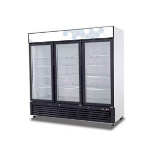 72 CU/FT GLASS DOOR MERCHANDISER REFRIGERATOR