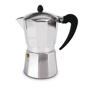 Cafetière A Espresso Pour Cuisinière, 3 Tasses, Aluminium