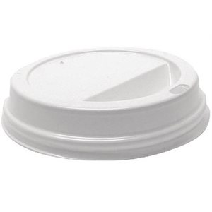 LID FOR DISPOSABLE COFFEE CUP (10, 12, 16OZ) - PACK OF 50