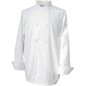 "Veste De Cuisinier, Double Extra Large, Blanc, ""Economy Basic"""