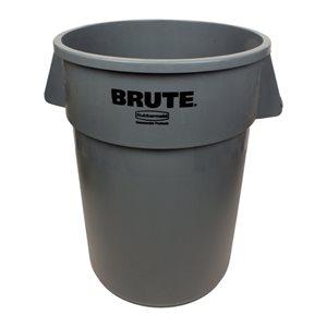 """Bac/Poubelle, Multifonction, 165.5 Litres, """"Brute"""", Gris"""