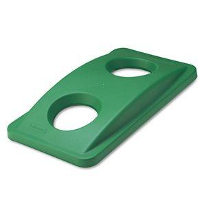Couvercle A Poubelle Recyclable, Vert, 51.6 X 28.6CM