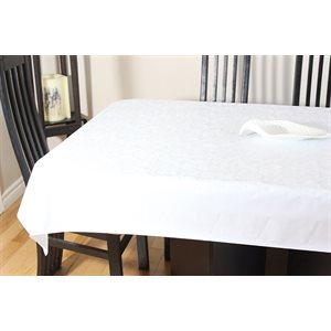 """Nappe de Table """"Floral en Relief"""", 54 Po x 20 Mètres"""