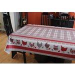 """Nappe de Table """"Country"""", 54 Po x 20 Mètres"""