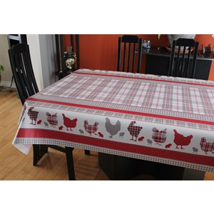 "Nappe de Table ""Country"", 54 Po x 20 Mètres"