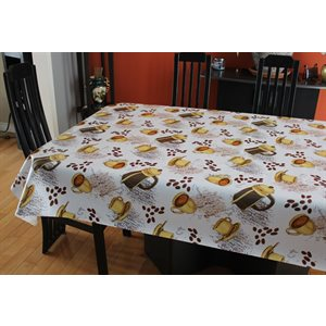 "Nappe de Table ""Café"", 54 Po x 20 Mètres"