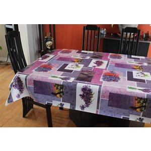 """Nappe de Table """"Mauve"""", 54 Po x 20 Mètres"""