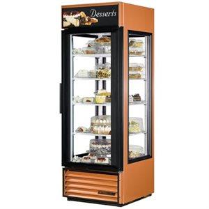 Réfrigérateur De Présentation/Vitrine, Vitrés, Bord En Cuivre