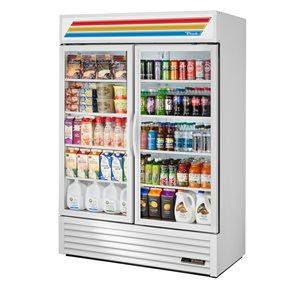 Réfrigérateur/Vitrine, Deux Porte Pivotant, 54 X 29.88 X 78.63 Po