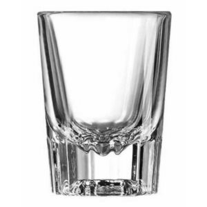 "Verre ""Shooter""A Cannelures, 2 Oz / 59 ML, ""Arcoroc"", 48/Caisse"