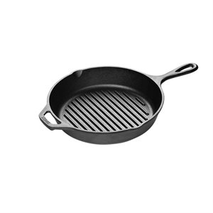 Cast Iron Grill Pan - 10 1/4 Inch