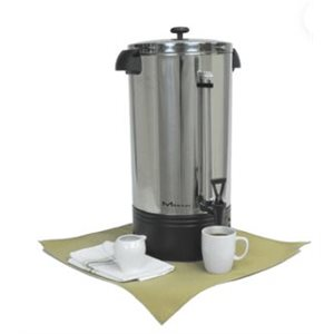 COFFEE PERCULATOR 42 CUP ALUM/FINISH