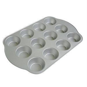 Moule A Muffins En Aluminium, 12 Fentes, Antiadhésif