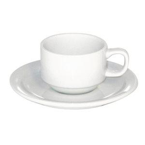 PC25W - Ens. Espresso 12 Mcx (6 Tasses et 6 Soucoupes)