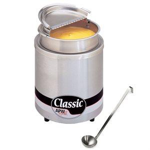Réchaud Pour Assiette/Casserole, Circulaire, Acier Inoxydable, 7 Pt
