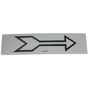 Signe/Pictogramme ''Flèche'' Gris