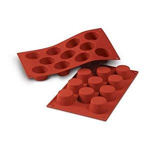 Moule A Pâtisserie (Mini Muffins) En Silicone, 11 Fentes
