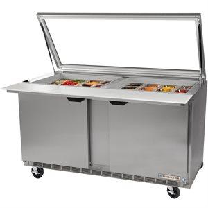 Table De Préparation, Réfrigérée, Dessus En Verre, 72 Po