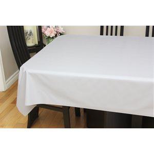 "Nappe de Table ""Lin Blanc"", 54 Po x 25 Mètres"
