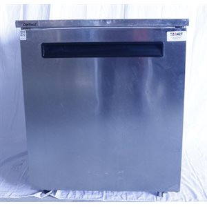 """Réfrigérateur usagé Delfield 406-STAR2 27"""" en acier inoxydable pour plan de travail et comptoir 115v"""