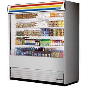 Réfrigérateur, Rideau Ouvert, Acier Inoxydable, 72 X 30.13 X 80.63 Po