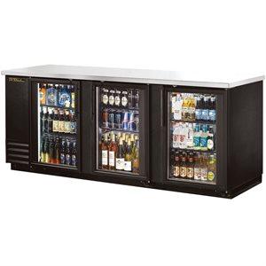 Réfrigérateur De Bar, Porte Pivotante En Verre, 90 Po En Longueur