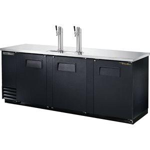 Distributeur A Bière, 3 Portes D'extraction, 90.38 X 27.13 X 37 Po